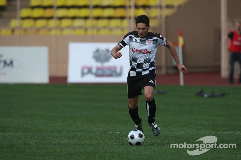 Star Team vs Nazionale Piloti, Charity Football Match, Monaco, Stade Louis II: Giancarlo Fisichella, Force India F1 Team