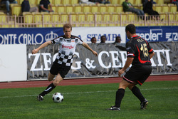 Star Team vs Nazionale Piloti, Charity Football Match, Monaco, Stade Louis II: Sebastian Vettel, Red Bull Racing