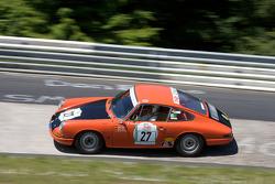 #27 Porsche 912: Stephan Dornhofer, Stefan Kolter, Andreas Conrad