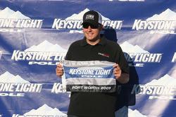Le vainqueur de la pole du Winstar World Casino 400, Johnny Sauter