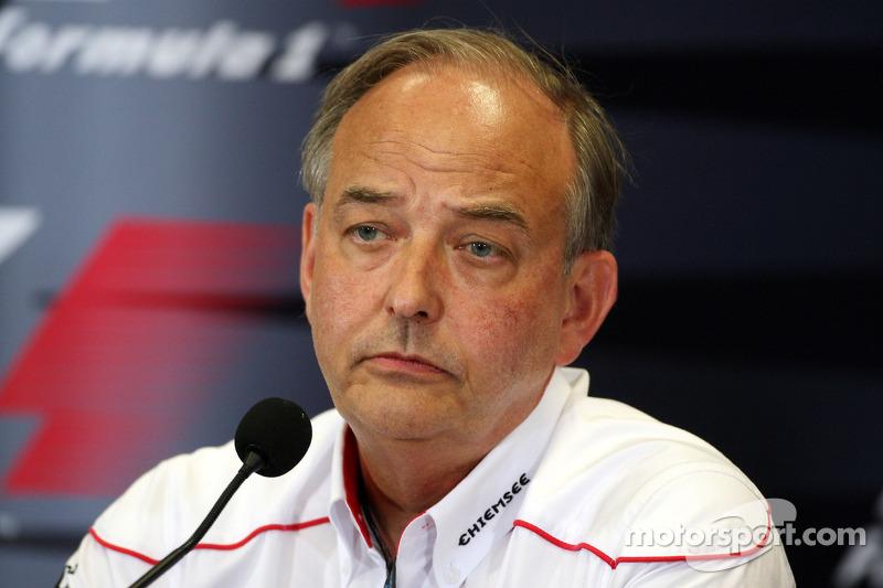 John Howett, Toyota F1 Team, President TMG