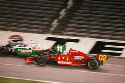 Tony Kanaan, Andretti Green Racing and Graham Rahal, Newman, Haas, Lannigan Racing