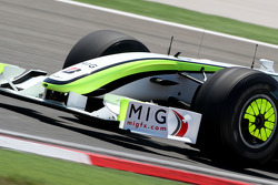 Brawn GP new front wing