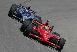 Graham Rahal, Newman, Haas, Lanigan Racing; Raphael Matos, Luczo Dragon Racing