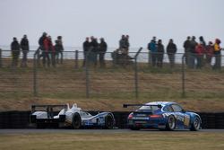 #77 Team Felbermayr-Proton Porsche 911 GT3 RSR: Marc Lieb, Richard Lietz, Wolf Henzler, #40 Quifel-ASM Team Ginetta Zytek 09S: Olivier Pla, Miguel Amaral, Guy Smith