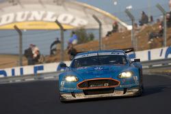 #66 Jetalliance Racing Aston Martin DBR9: Alex Müller, Lukas Lichtner-Hoyer, Thomas Gruber