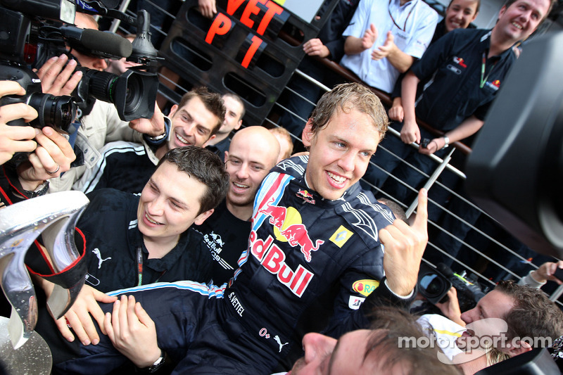 2009 - Grand Prix von Großbritannien: Sebastian Vettel, Red Bull Racing RB5