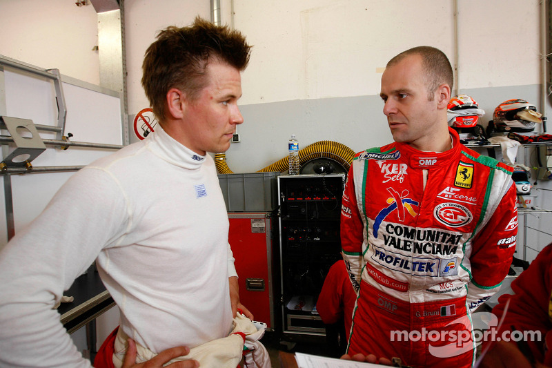 Toni Vilander and Gianmaria Bruni