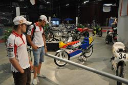 Mika Kallio, Pramac Racing, and Niccolo Canepa, Pramac Racing visit TT Assen track and museum