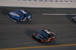 Kurt Busch, Penske Racing Dodge and David Stremme, Penske Racing Dodge