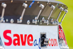 The Save A Lot Ford sits on pit road