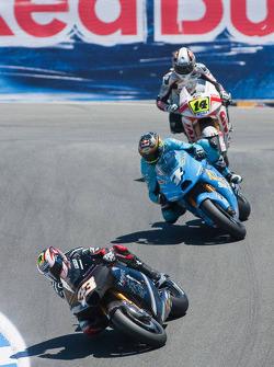 Marco Melandri, Hayate Racing Team, Chris Vermeulen, Rizla Suzuki MotoGP