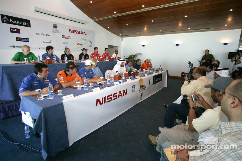 Press conference: FIA's Vice-President for sport and 14