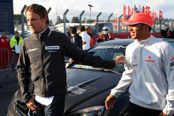 Jenson Button, Brawn GP, Lewis Hamilton, McLaren Mercedes