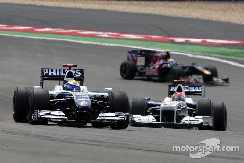 2009赛季:无缘领奖台,告别威廉姆斯车队