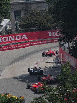 The start of the Honda Indy Toronto