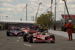 Scott Dixon, Target Chip Ganassi Racing heads to pace laps