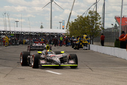 Dan Wheldon, Panther Racing heads to pace laps