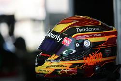 Fabian Coulthard's helmet