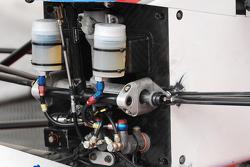 Formula Two front suspension detail