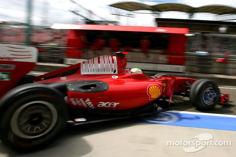 GP da Hungria de 2009: Massa lesionado