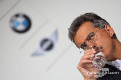 Developments of BMW in Motorsports press conference, Munich, Germany