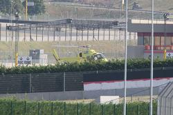 Michael Schumacher, Scuderia Ferrari, leaves the track