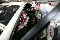Александр Према, Audi Sport Team Phoenix Audi A4 DTM, и Оливер Джарвис, Audi Sport Team Phoenix Audi A4 DTM