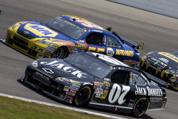 Casey Mears, Richard Childress Racing Chevrolet, Michael Waltrip, Michael Waltrip Racing Toyota