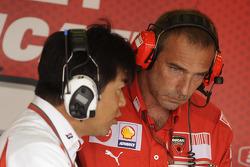 Ducati engineers