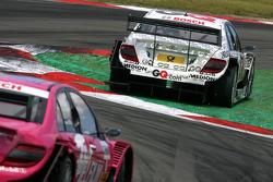 Maro Engel, Mücke Motorsport, AMG Mercedes C-Klasse, short cuts the NGK chicane