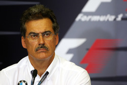 FIA press conference: Dr. Mario Theissen, BMW Sauber F1 Team, BMW Motorsport Director