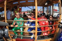 Drivers presentation: Tony Kanaan, Andretti Green Racing, Mike Conway, Dreyer & Reinbold Racing, Scott Dixon, Target Chip Ganassi Racing, Danica Patrick, Andretti Green Racing