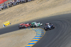 Mike Conway, Dreyer & Reinbold Racing, Tony Kanaan, Andretti Green Racing, Scott Dixon, Target Chip Ganassi Racing