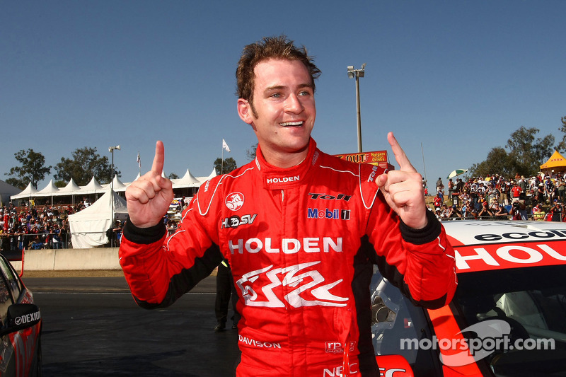 Will Davison takes the race win for Toll Holden Racing Team