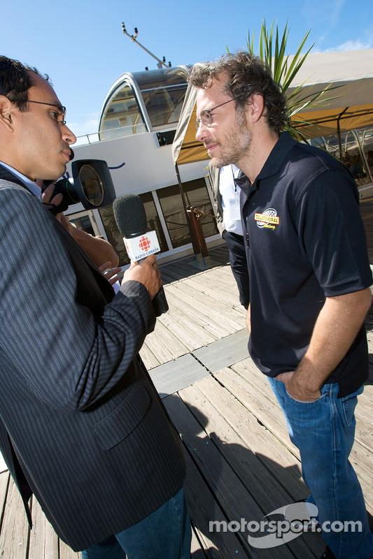 Pre-event press conference: Jacques Villeneuve