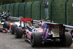 kazaed Car, Jaime Alguersuari, Scuderia Toro Ross, Lewis Hamilton, McLaren Mercedes
