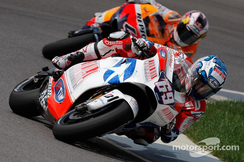 2009: Ducati, GP de Indianápolis, 3º lugar