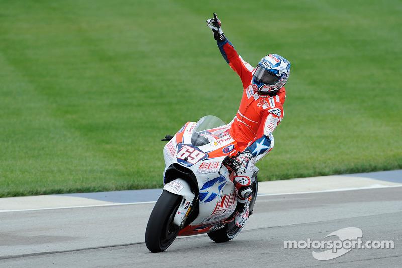 Troisième place pour Nicky Hayden, Ducati Marlboro Team