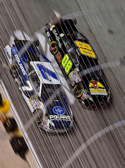 Robby Gordon, Robby Gordon Motorsports Toyota and Terry Labonte, Carter/Simo Racing Ford