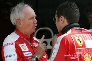 Rory Byrne, Scuderia Ferrari Consultant
