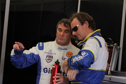 Nigel Mansell and Lawrence Tomlinson