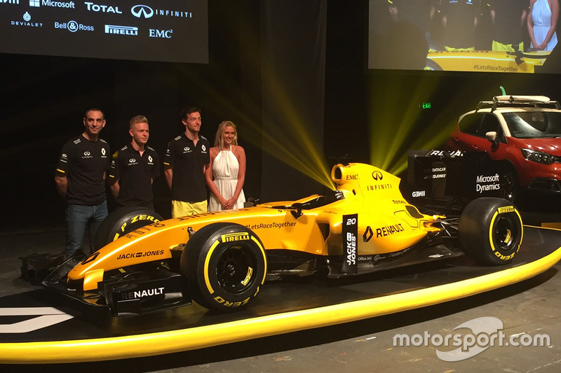 RS16 Renault F1 Team 2016
