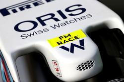 Williams FW38, dettaglio del muso