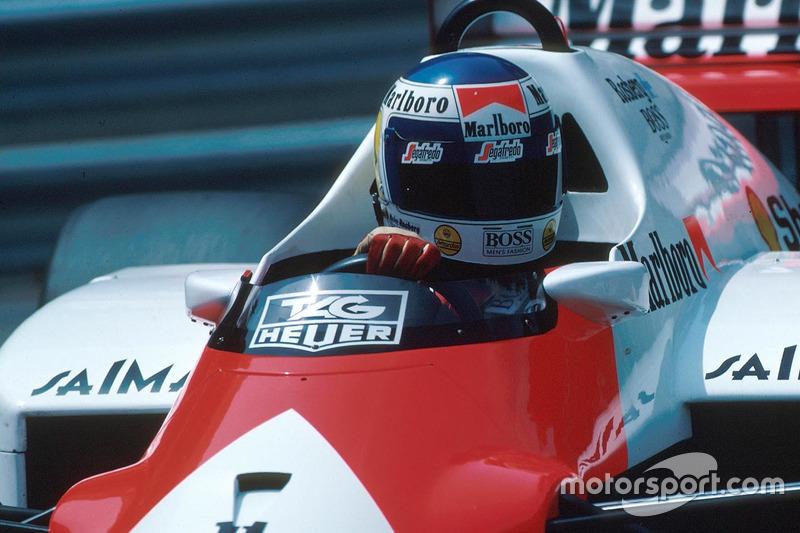 Keke Rosberg con McLaren en 1986, su último año en F1