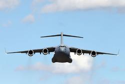 An Australian Air Force plane
