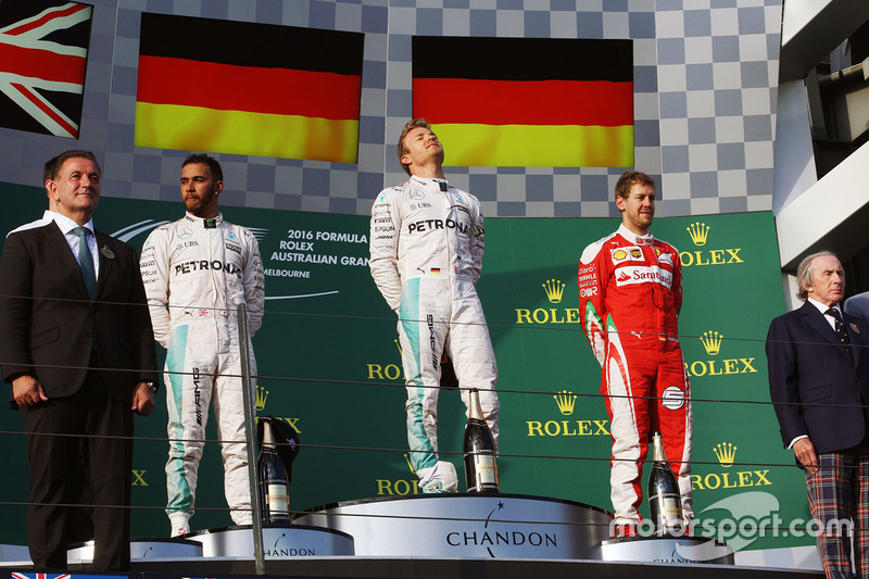 88-Gran Premio de Australia 2016 (2º), Mercedes
