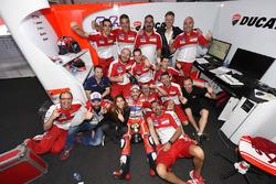Andrea Dovizioso, Ducati Team, Ducati con el equipo