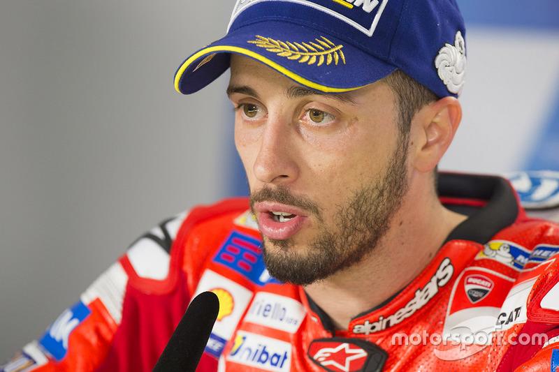 Segundo lugar, Andrea Dovizioso, Ducati Team
