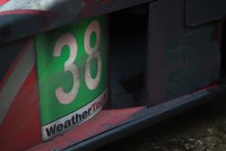 #38 Performance Tech Motorsports, ORECA FLM09: James French, Josh Norman, Kyle Marcelli detail